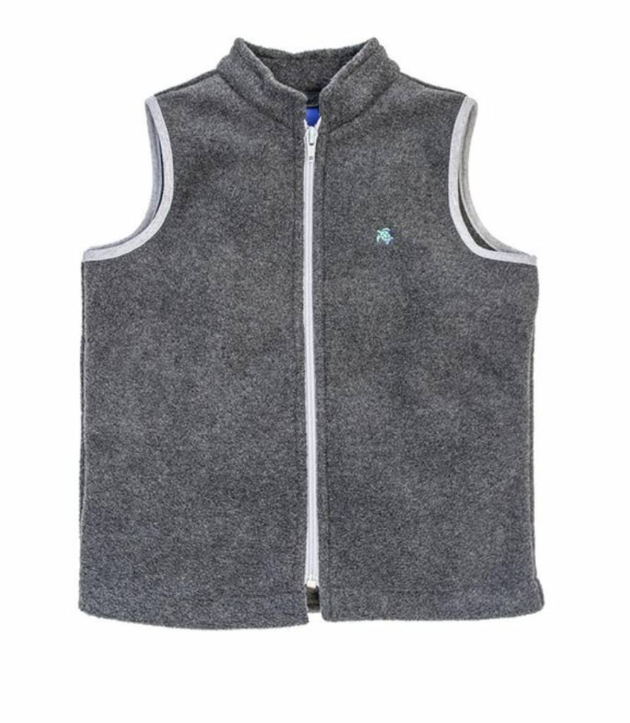 the Bailey boys j. Bailey fleece vest grey