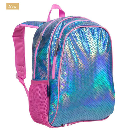 Mermaid scales backpack 15""