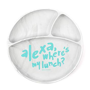 "Wonder Plate ""Alexa where's my lunch?"""