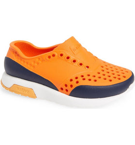 Native Shoes Lennox Sunset Orange/regatta blue/shell white