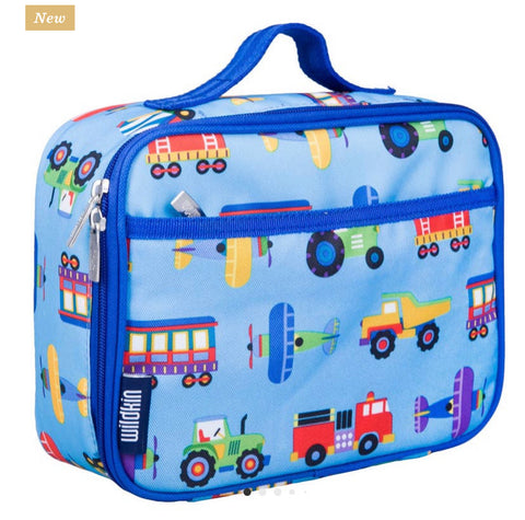 Trains planes and trucks lunchkit