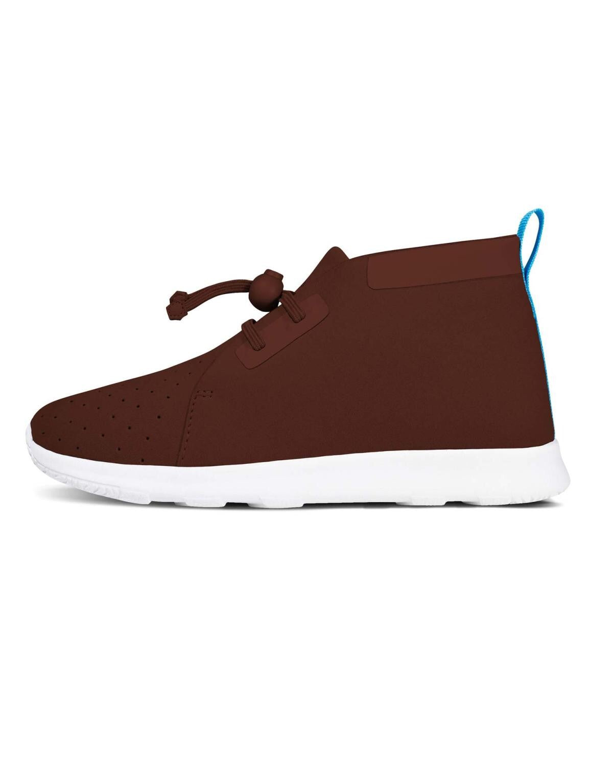 Native shoes app chukka spice red maroon