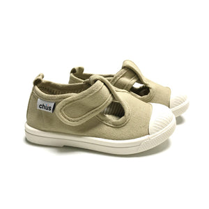 Chus shoes chris khaki t strap