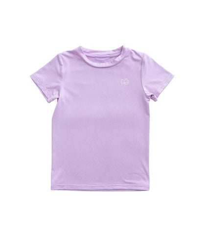 Prodoh kids red snapper performance tee lavender