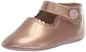 Elephantito baby Mary Jane patent rose gold