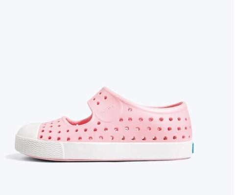 Native shoes juniper lantern pink shell white