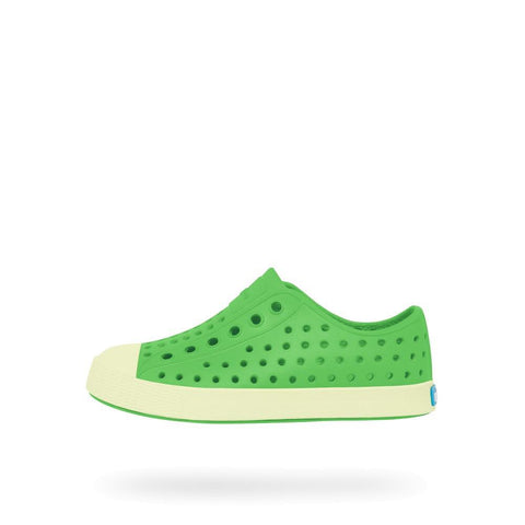 Native shoes Jefferson Glow in the Dark mescal green