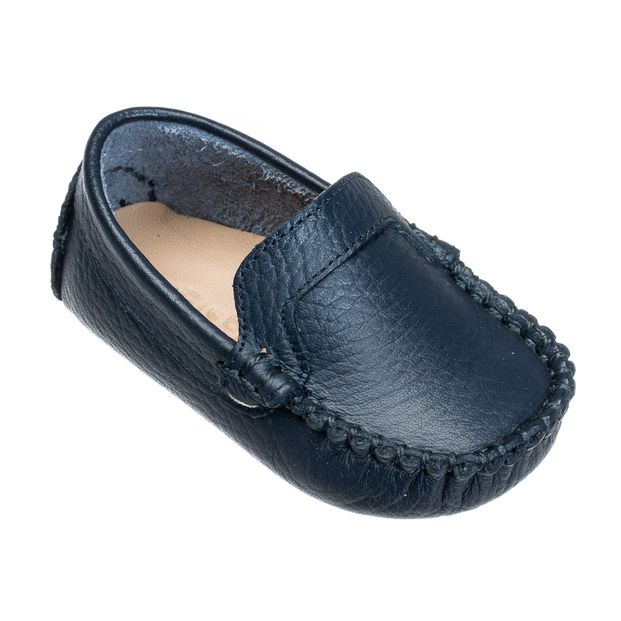 Elephantito baby moccasin driving mocc navy blue