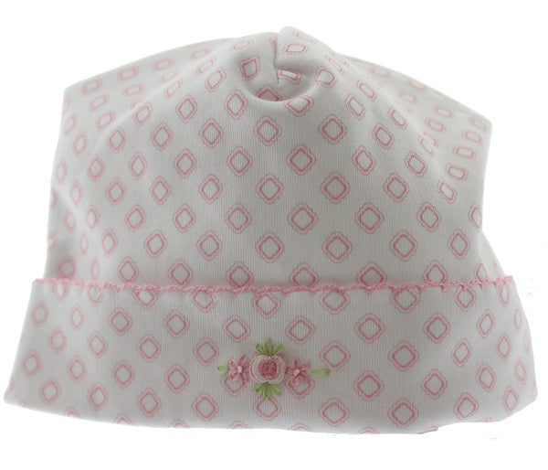 Magnolia Baby Hopes rose essentials  embroidered hat
