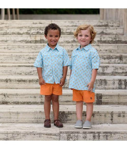 Blue quail everyday shorts clementine