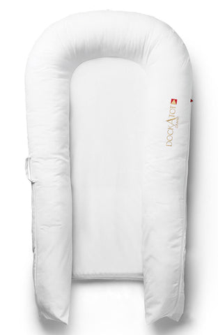 DockaTot Grand bedside sleeper pristine white (9-36m) IN STORE PICK UP