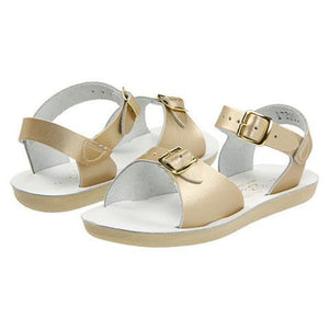 Sun San Surfer Saltwater Sandals gold