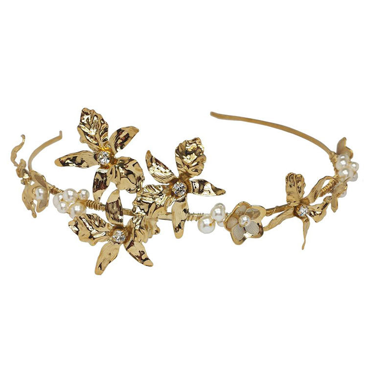 Diadema Bright Gold