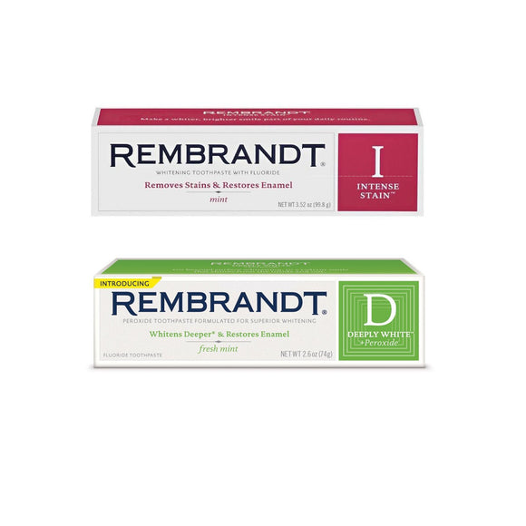 Rembrandt Toothpast (D) & ( I ) Set  歯磨き粉セット (数量割引対象品)