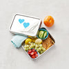 Dalcini Stainless Contenant rectangulaire lunch box - Boutique Planète Bébé