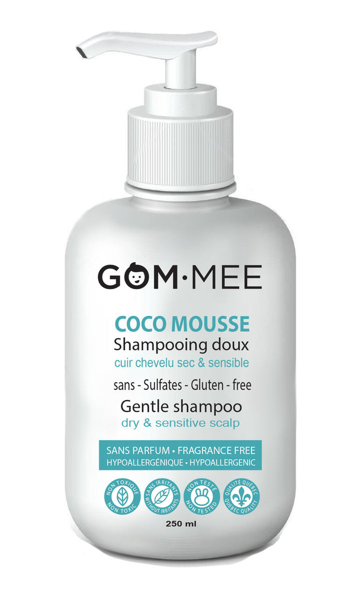 Gom-mee Coco Mousse shampoing doux