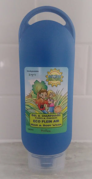 Mission Nature Gel & Shampoing Eco Plein Air - Boutique Planète Bébé