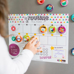 Minimo Tableau Ma routine quotidienne