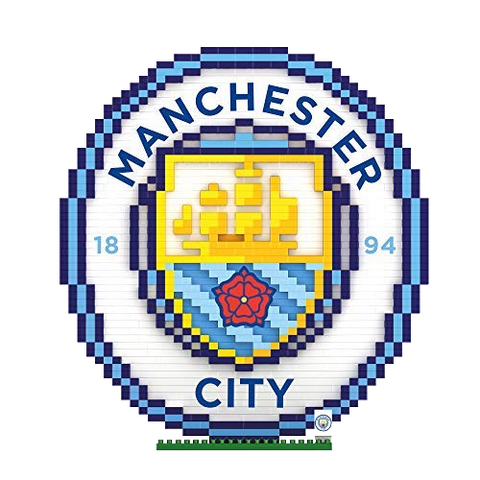 BRXLZ Manchester City Crest 3D Construction Kit