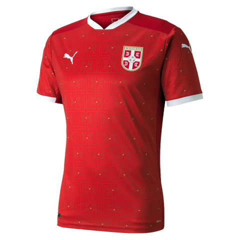 PUMA Serbia FSS 2020/21 Men's Home Jersey