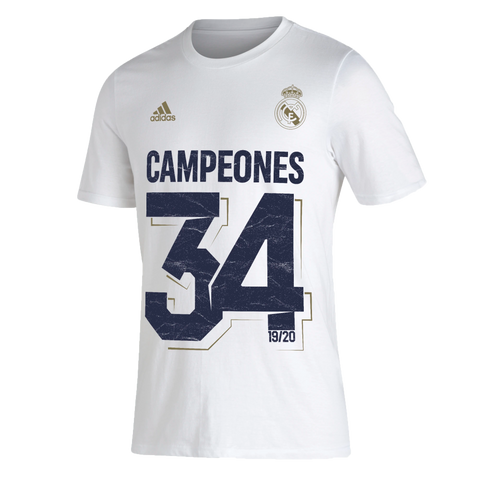 adidas Real Madrid Men's Club Winners Graphic Tee