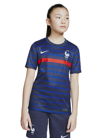 NIKE France FFF 2020/21 Youth Home Jersey