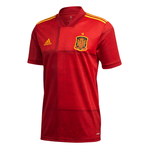 adidas Spain Euro 2020 Men's Home Jersey