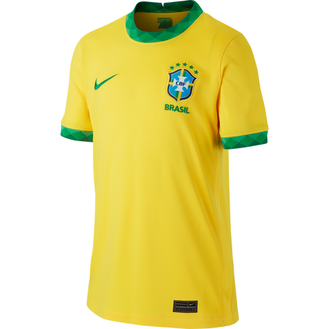 NIKE Brazil CBF 2020/21 50 Years Anniversary Youth Home Jersey