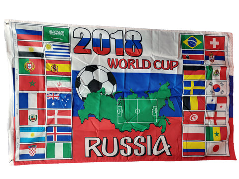 2018 World Cup Groups Large 3' x 5′ Flag