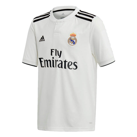 adidas Real Madrid 2018-19 Youth Home Jersey Replica