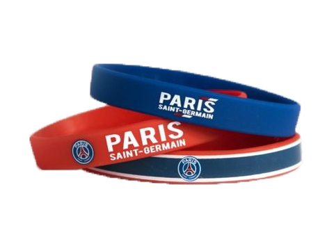 Paris Saint-Germain Team Crest Assorted Band Bracelets (set of 3)