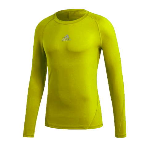 adidas miTEAM18 Alphaskin Climawarm Youth LS Compression Top