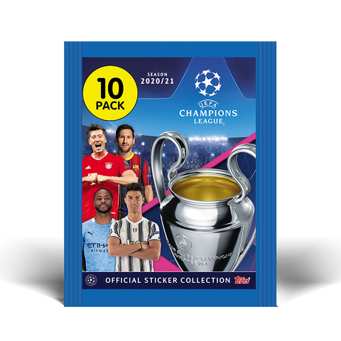 Topps UEFA Champions League Stickers 2020/21 Packet