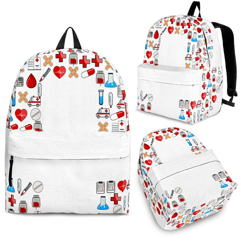 Doctor/Nurse Medical Icon Backpack