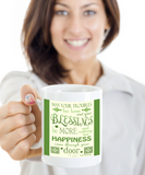 Irish Blessing Mug