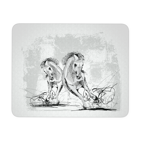Exclusive Running Wild Horses Mousepad