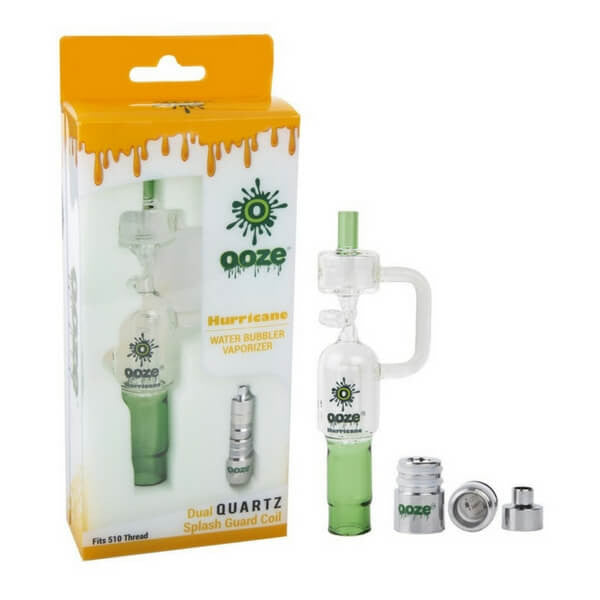 Hurricane Water Bubbler Vaporizer by Ooze