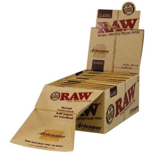 RAW Artesano KingSize (15 Per Box) by Raw