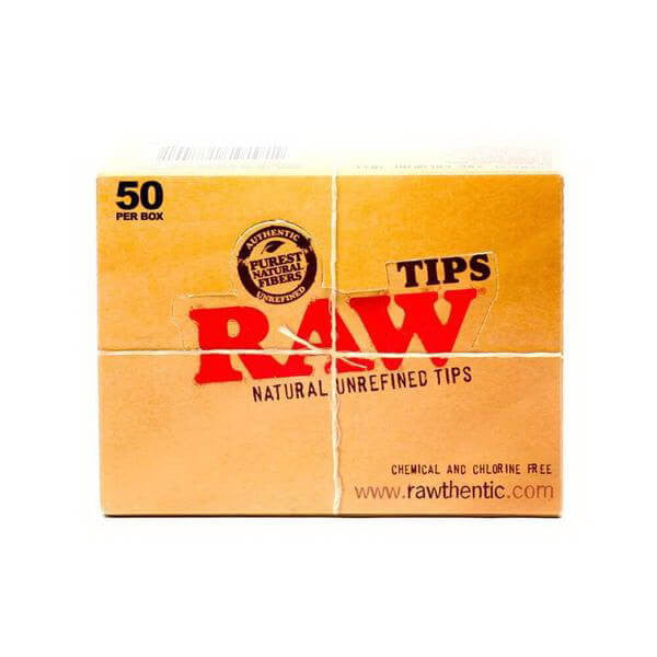 RAW - Natural Hemp Tips by Raw