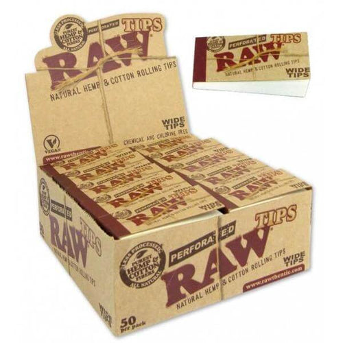 RAW Wide Tips (15 Units) by Raw