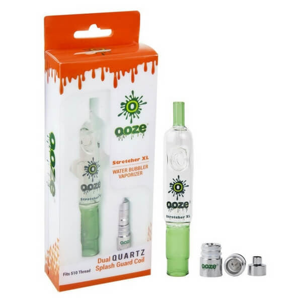 Stretcher XL Water Bubbler Vaporizer by Ooze