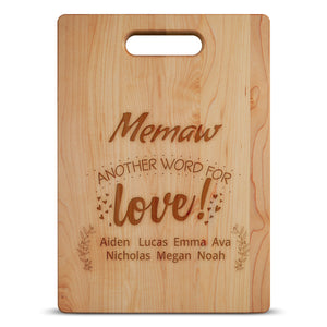 personalized Grandma Cutting board algarve onlilne shop