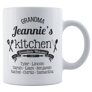 Personalized Coffee Mug - Grandma Kitchen
