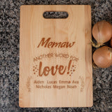 personalized Memow Cutting board Algarve Online shop