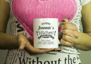 Personalized tea Mug - Grandma Kitchen Algarve online shop