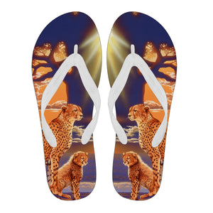 Flip Flops - Cheetah - Morning Glow