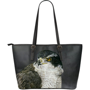 Large Leather Tote Bags - Birds of Prey Collection