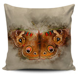 butterfly buckeye pillow cover