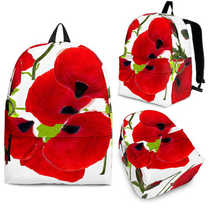 Backpack poppies flowers algarve online shop