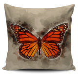 butterfly Monarch pillow cover